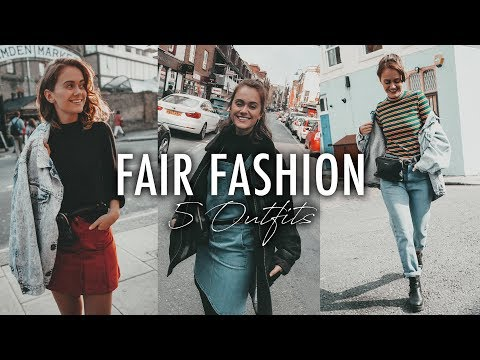FAIR FASHION & SECOND HAND - 5 Outfit Ideen | SNUKIEFUL