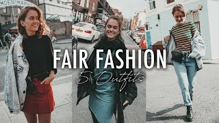 5 OUTFIT IDEEN - Fair Fashion & Second Hand | SNUKIEFUL