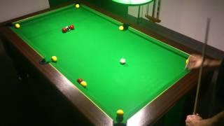 4ème Exercice billard anglais 8 pool blackball (fermer la table)
