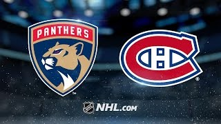 Habs clinch playoff berth with 6-2 win vs. Panthers