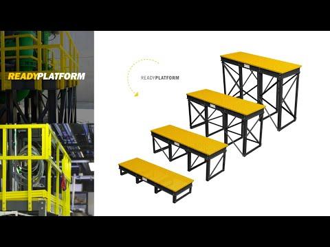 ReadyPlatforms: Modular FRP Platforms