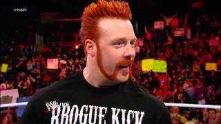 Big Show Confronts Sheamus The Redheaded Ginger Snap A.k.a Ginger Powder