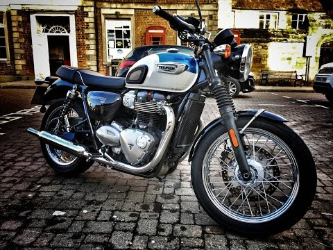 2017 Triumph Bonneville T100 Review Youtube