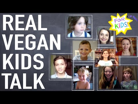 Real VEGAN KIDS Talk About Being Vegan! [For Kids!]