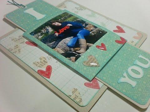 Tutorial - Love Slider Card - Valentine's Day