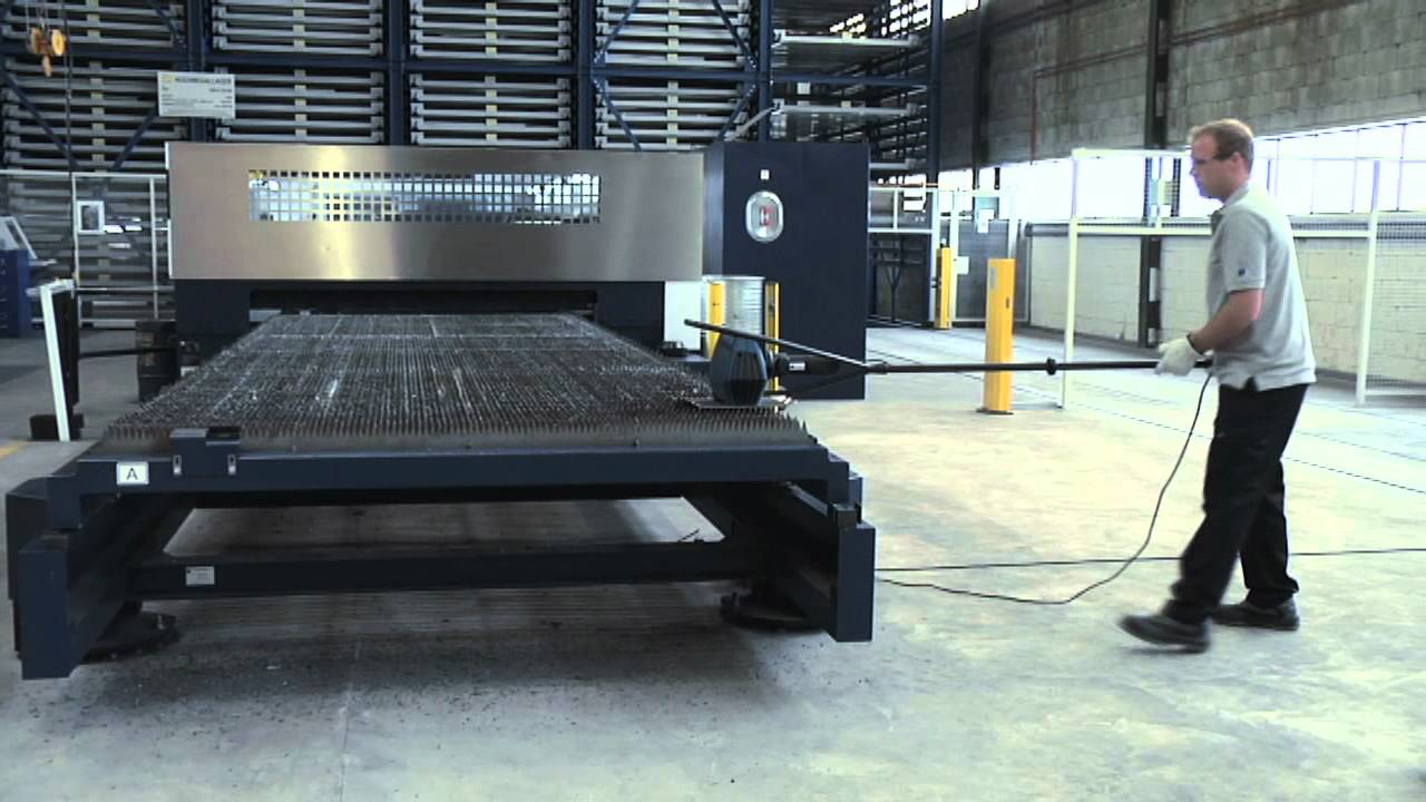 Trumpf Tsc 100 Slat Cleaner Youtube
