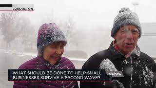 What should be done to help small businesses survive a second wave? | Outburst