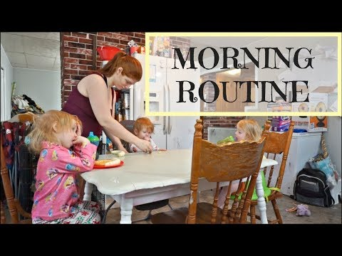 MORNING ROUTINE WITH 3 KIDS 3 AND UNDER (UPDATED)