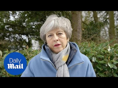 Theresa May sends condolences to New Zealand terror attack victims