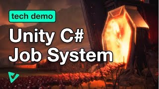 Optimizing Code using Unity's C# Job System (Tech Demo)