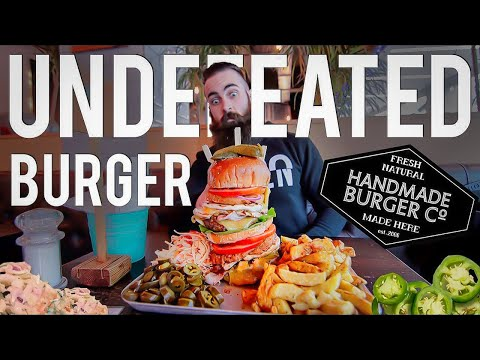 Handmade Burger Co.'s UNDEFEATED Spicy Burger Challenge | The Chronicles of Beard Ep.50