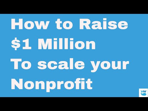 How to Raise $1 Million for Your Nonprofit Charity with a Capital Campaign