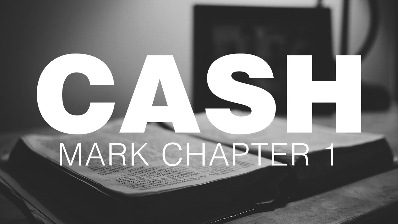 Reformed Theology Johnny Cash read the book of Mark  Calvinism