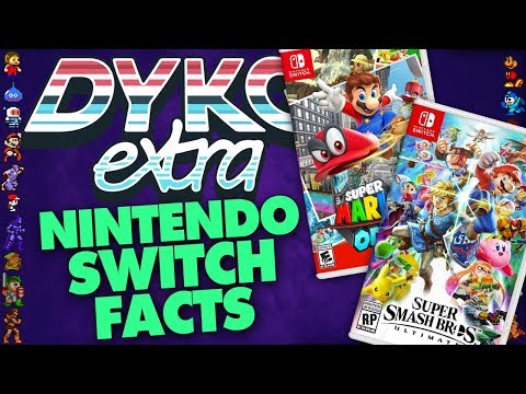 Nintendo Switch Games Facts - Did You Know Gaming? Feat. Dazz