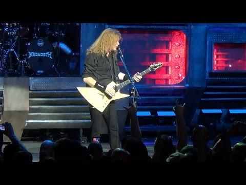 Megadeth - Trust - Las Vegas 2-26-16
