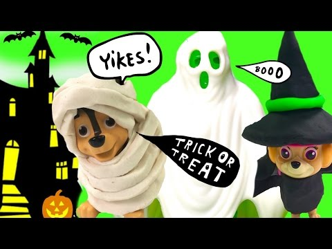 Thumbnail: Paw Patrol Trick or Treating! Scary Ghost, Toy Surprises & Stop Motion | Fizzy Toy Show