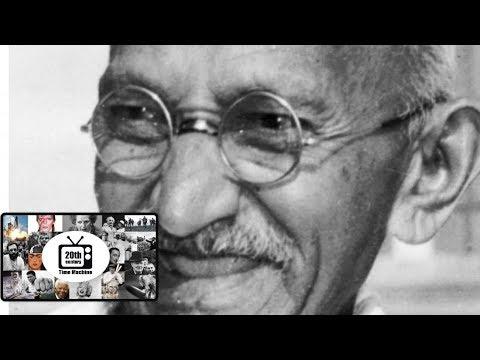 Mahatma Gandhi 1955 Biography Film,The Amazing History of Mahatma Gandhi. Original Footage!!!