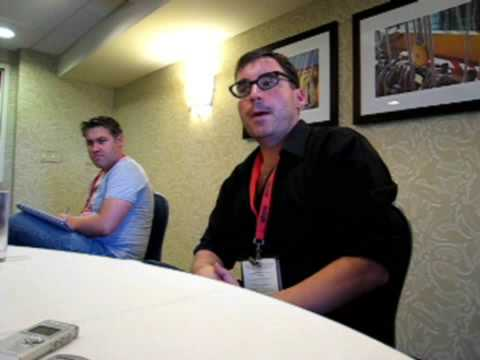 Toby Whithouse ComicCon  part 1