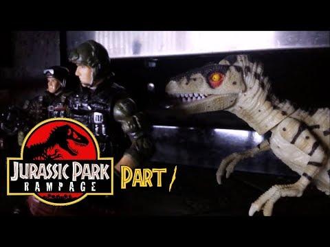 Jurassic Park: Rampage (Toy Movie REMAKE) Part One