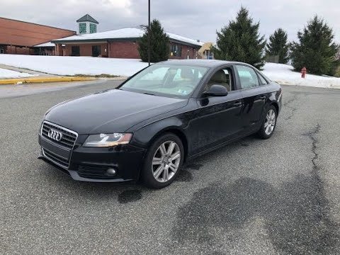The 2009 Audi A4: A Steal For A Used Luxury Sedan