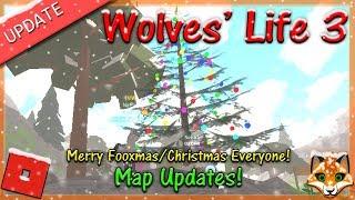 Roblox - Wölfe Leben 3 - Fröhliche Fooxmas/Weihnachten jeder! - HD