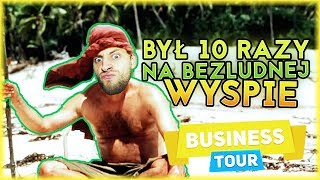 KUBSON BYŁ 10 RAZY NA BEZLUDNEJ WYSPIE! | Business Tour [#61] (W: Kubson, Dobrodziej, Plaga)