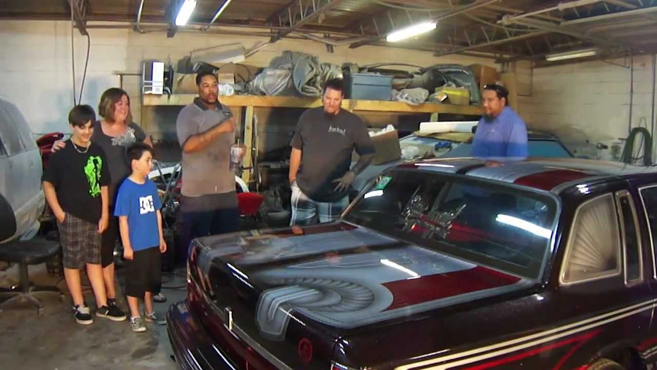 1993 Lincoln Towncar Lowrider Johns Restoration Youtube