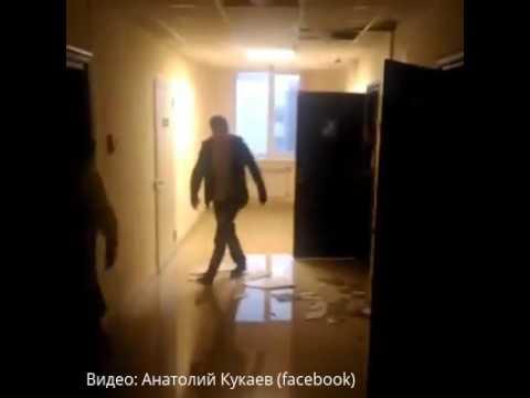"""Дождь затопил коридоры здания технопарка """"Жигулевская долина"""""""