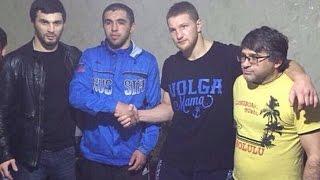 Минеев и Джуманиязов помирились |  Массовая драка после боя в Дагестане