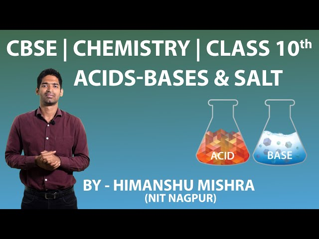 NCERT solutions for class 10th Chemistry Acids, Bases and Salts Q6