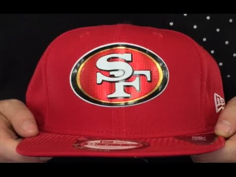 6445223d274 49ers  2015 NFL DRAFT SNAPBACK  Red Hat by New Era - YouTube