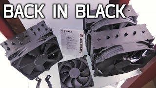 BLACK NOCTUA COOLERS