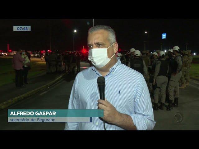 Cidade Segura: Policias Civil e Militar realizam operação  conjunta em Rio Largo