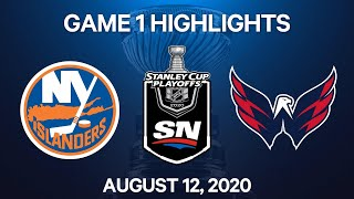 NHL Highlights | 1st Round, Game 1: Islanders vs. Capitals – Aug. 12, 2020