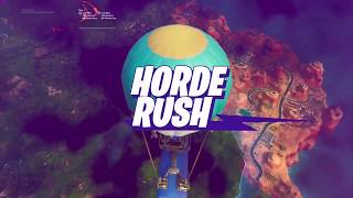 i GIVE UP in Fortnite Horde Rush LTM ...