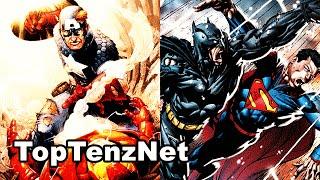 Top 10 Reasons Civil War will be Better than Batman v Superman