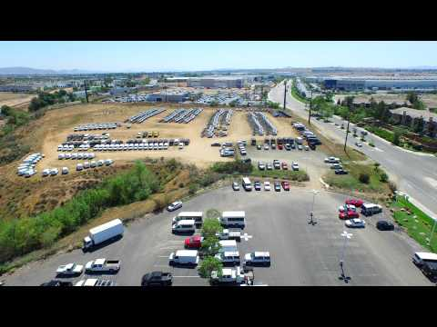 4K DJI Inspire Drone Flyover Of Beautiful Raceway Ford Autoplex In Riverside California