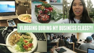 What I Eat In A Day & Vlogging In The Middle Of Class!