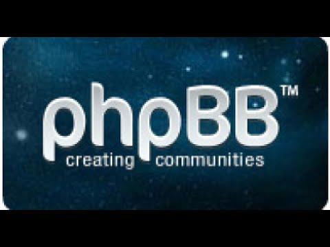 Βίντεο 5: Πώς Διαμορφώνω Ένα Phpbb Forum.