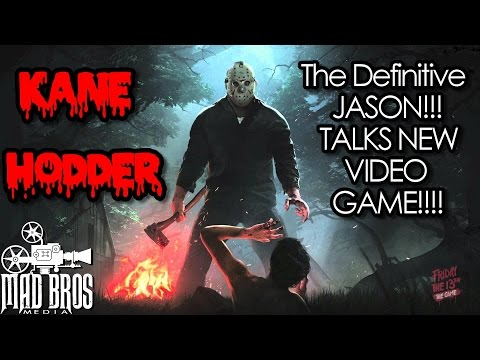 KANE HODDER TALKS FRIDAY THE 13TH GAME RELEASE DATE MAY 26th 2017!