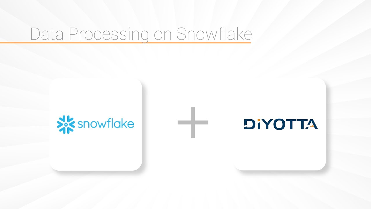 Data Integration for Snowflake