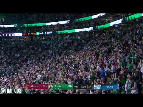 Boston Celtics R3G1 Defensive Highlights vs Cleveland Cavaliers (05/13/2018)