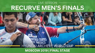 Live Session: recurve men's finals | Moscow 2019 Hyundai Archery World Cup Final