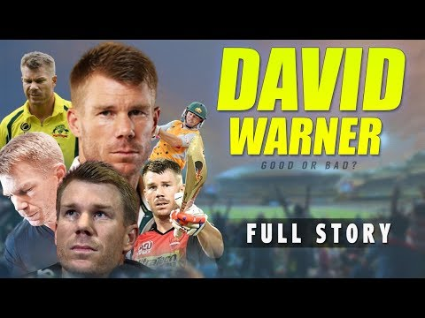 David Warner Biography | Ball Tampering | Full Story