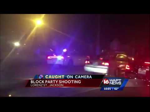 New video of block party shooting