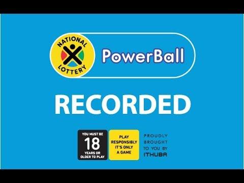 Powerball Live Draw 21 June 2019 Youtube