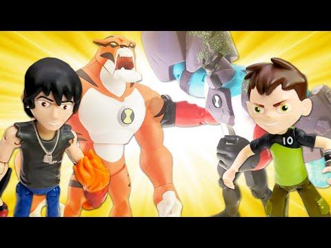 Видео игры с Бен 10 – Кто из Героев Омнитрикс самый крутой? – Сборник видео для мальчиков.