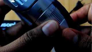 Panasonic ER-GB40-S Wet/Dry Beard/Hair Trimmer Hands on Review
