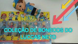 Bonecos Luccas Neto - OS AVENTUREIROS