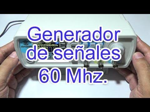 Download Probando Generador de señales doble canal de 60 Mhz JDS6600-60M Banggood